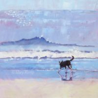 Mary-Kemp-Grace-the-Border-Collie-Encounters-a-Wave-No-2-.-Oil-on-canvas-panel-40-x-40-cms-small-567x560