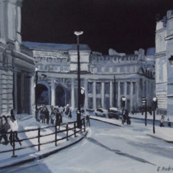 admiralty arch painting london