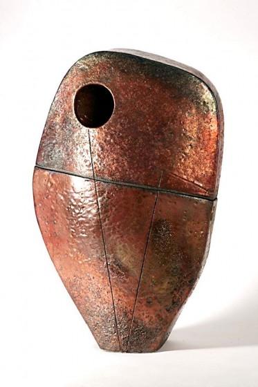 Sentinel II in Raku Copper finish
