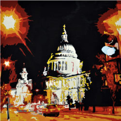 painting of st paul's cathedral