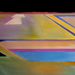 Final Approach Original painting by Alan Brain