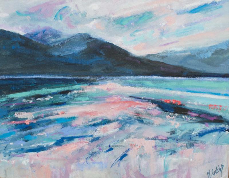 Beautiful Lake by michelle gibbs