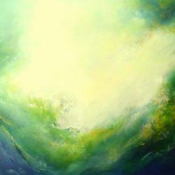 Emerald Ocean II by gill luff