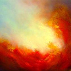 gill luff abstract atmospheric painting