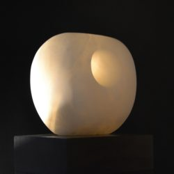 stone sculpture by nicola beattie