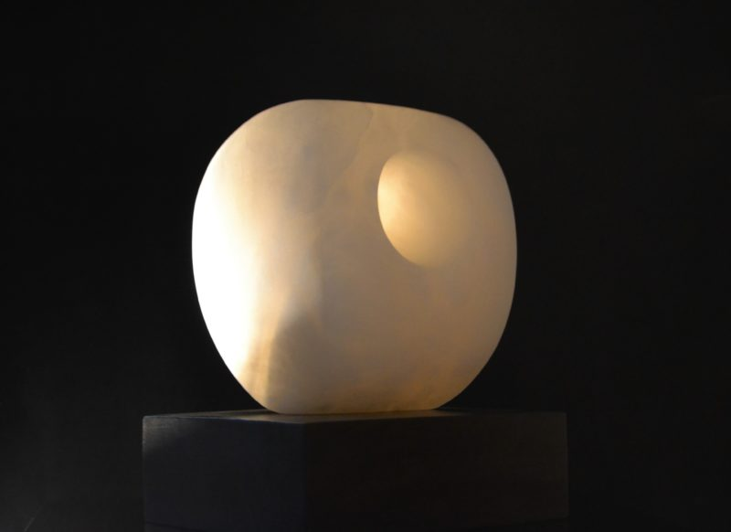 stone sculpture by nicola beattie