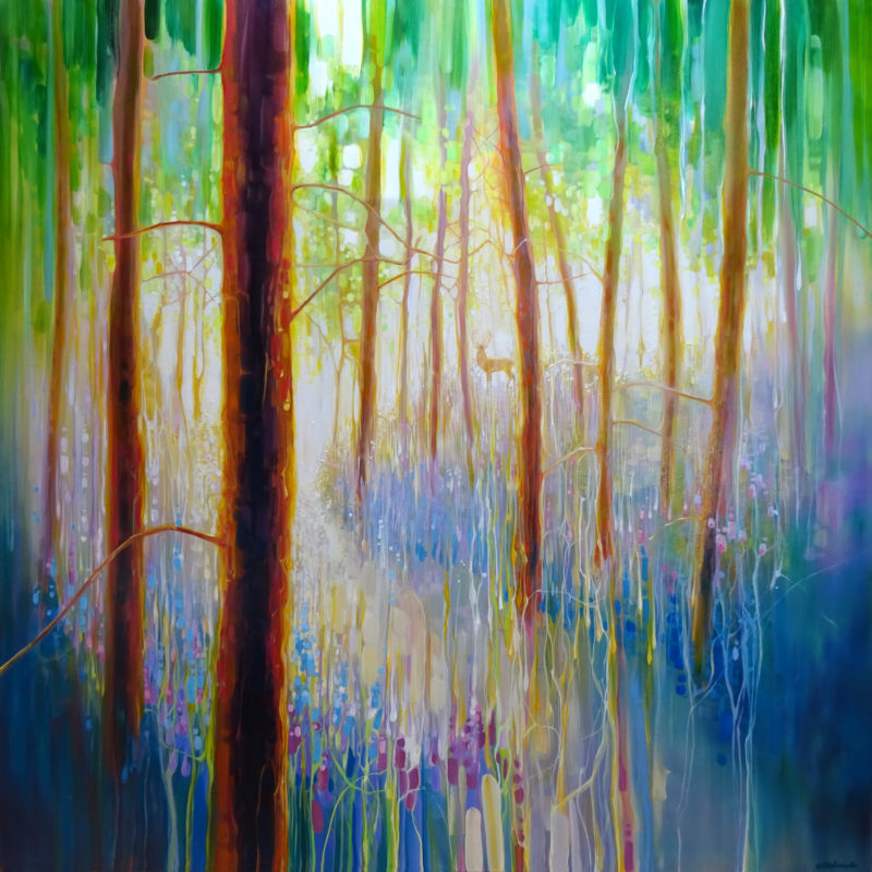 Bluebell Symphony by gill bustamante