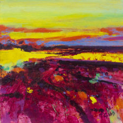 Painting the Landscape (Framed) by michelle gibbs