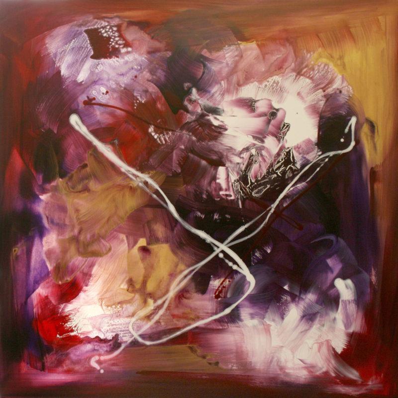 paresh nrshinga heart over mind abstract painting