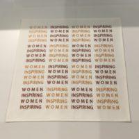 embroidered handkerchief by Mona Hatoum