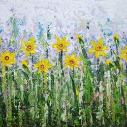 The Joy of Daffodils by cinzia mancini