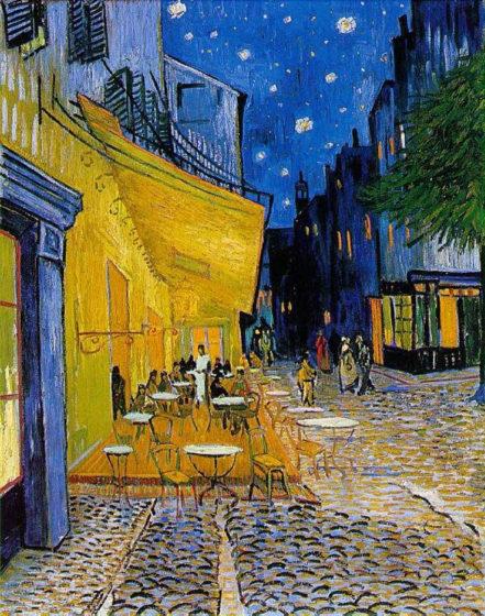 Vincent Van Gogh . Cafe Terrace at Night