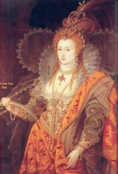 Elizabeth 1st by Isaac Oliver 1600 The Rainbow Portrait