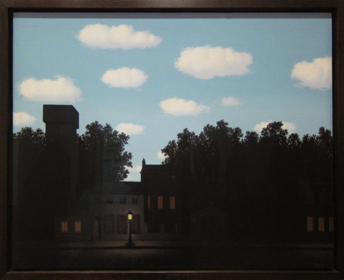 Empire of Light by Magritte