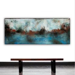 panoramic abstract painting by veronica vilsan