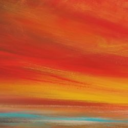 respect a panoramic painting by artist melanie graham