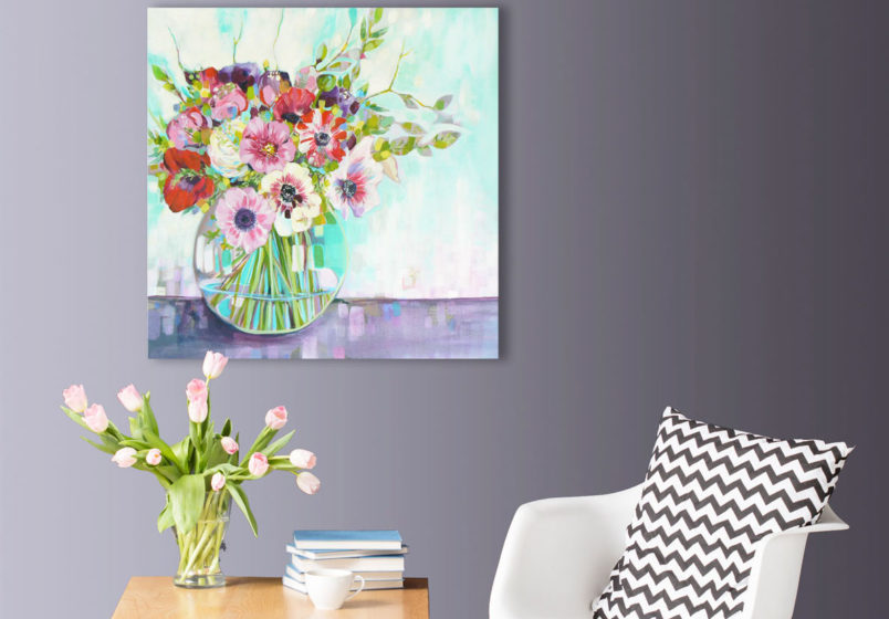 try artwork in your room at home
