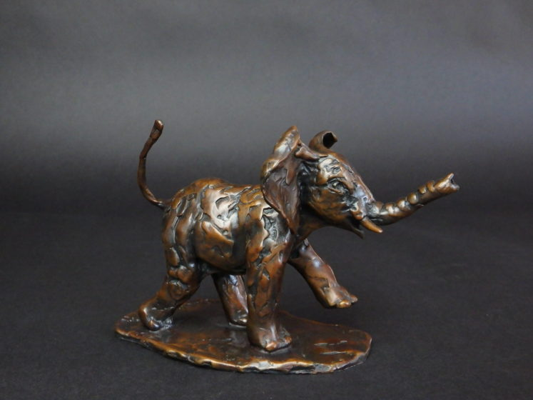 bronze elephant sculpture for sale