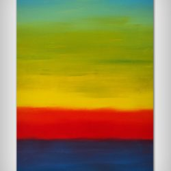 large abstract painting for sale by davide de palma