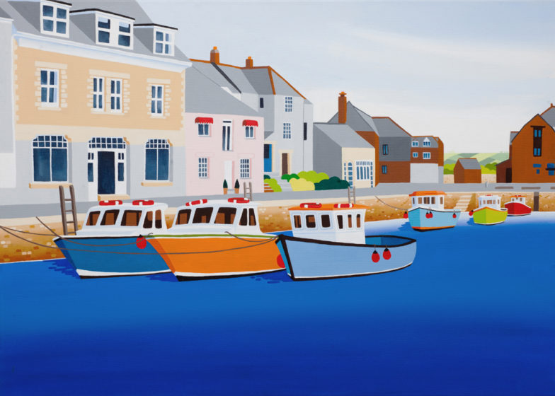 padstow artwork by artist shirley netherton