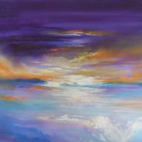 abstract sky by gill luff