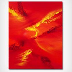 abstract on canvas by Davide de Palma