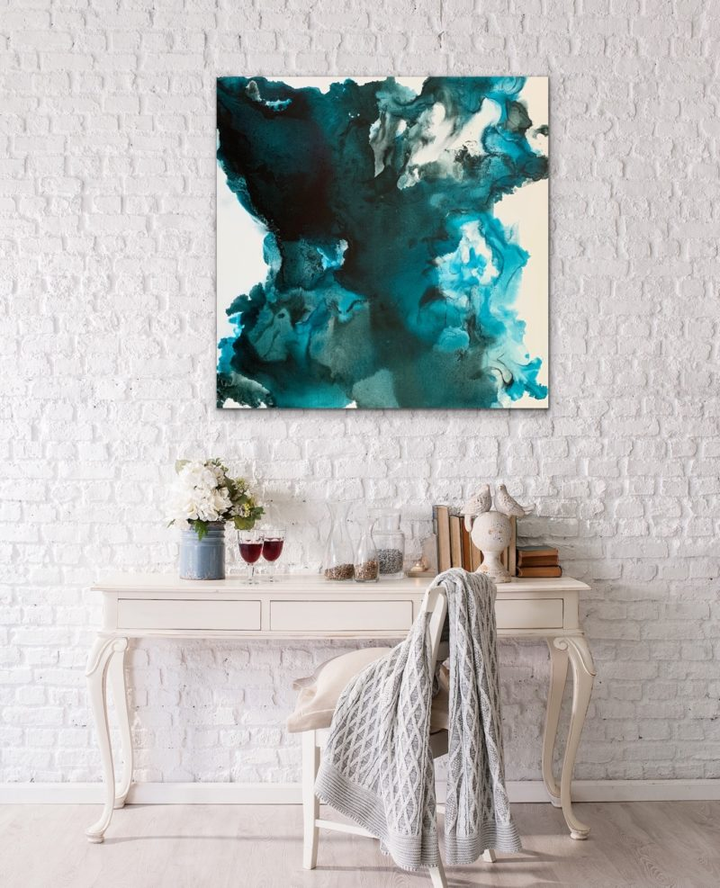 abstract original painting by veronica vilsan