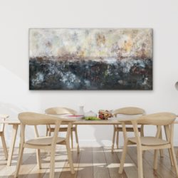 abstract landscape painting by veronica vilsan
