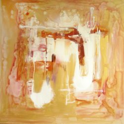 PARESH NRSHINGA LARGE ABSTRACT PAINTING
