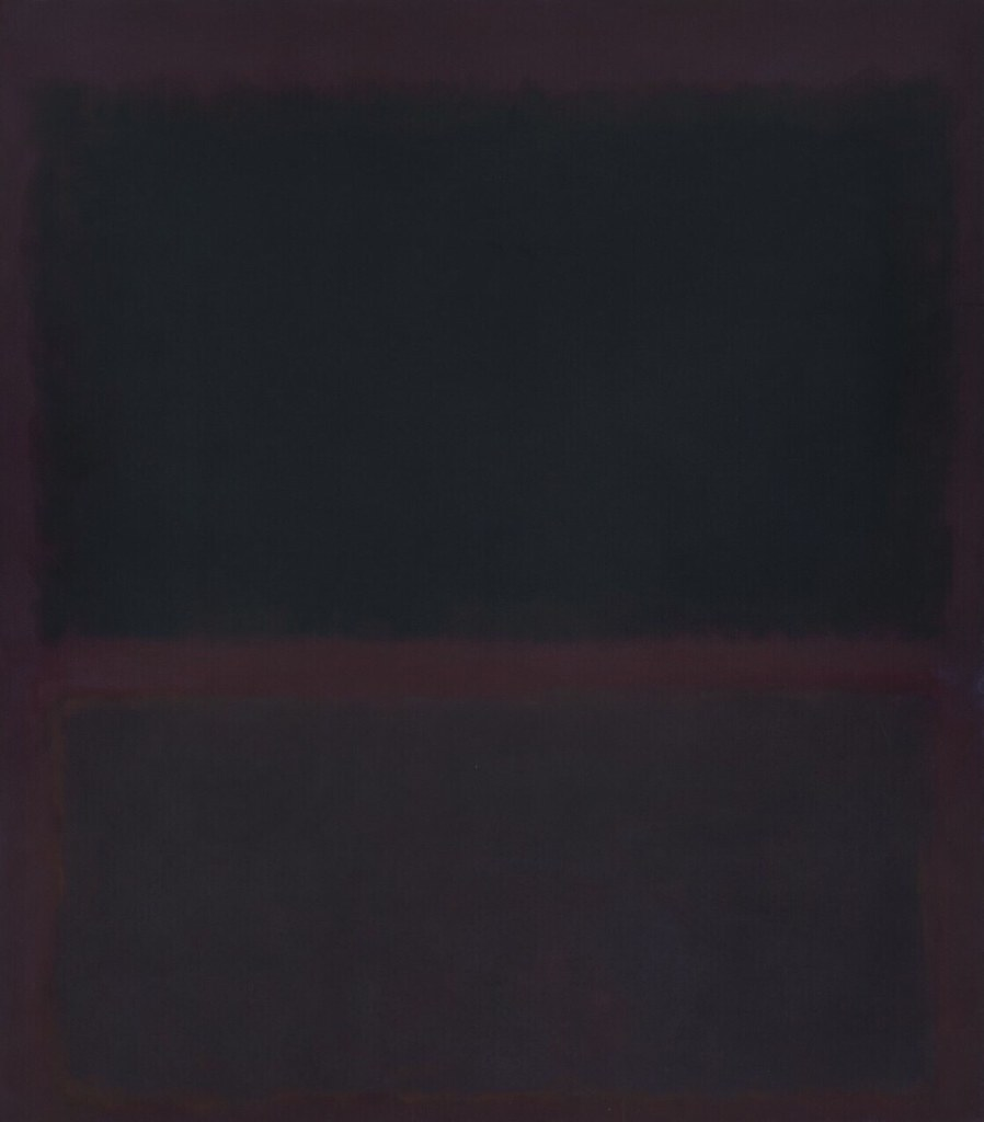 mark rothko dark paintings