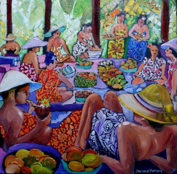 waikiki figurative painting online