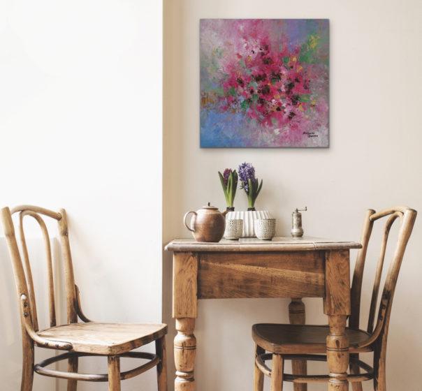 kalpana soanes floral painting