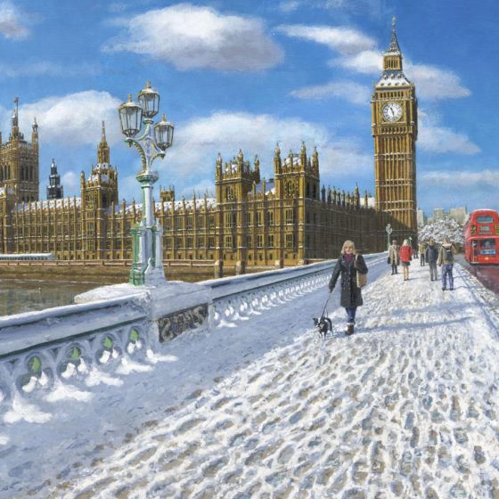 richard harpum london snow painting