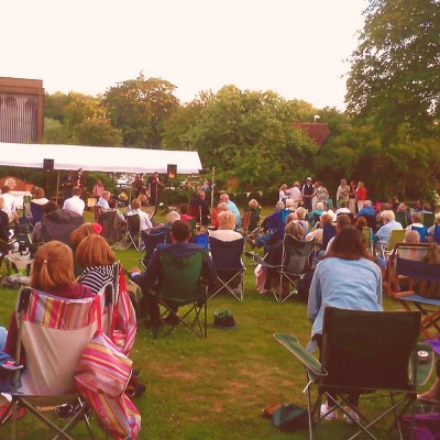 Our audience for Live on the Lawn - Summer 2015