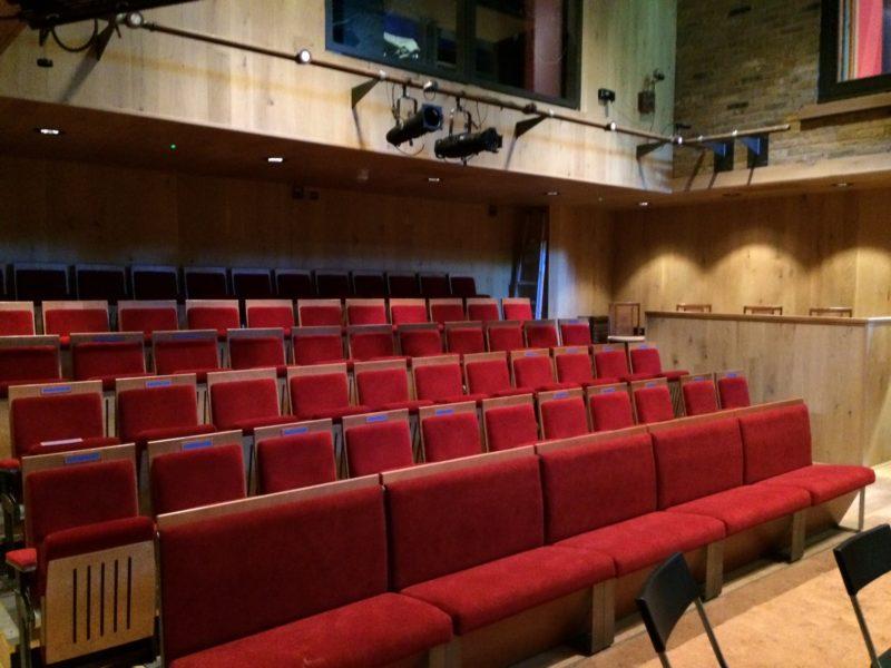Inside the Tara Arts Auditorium