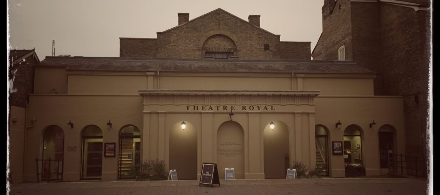 Front Facade of Theatre Royal Bury St Edmunds
