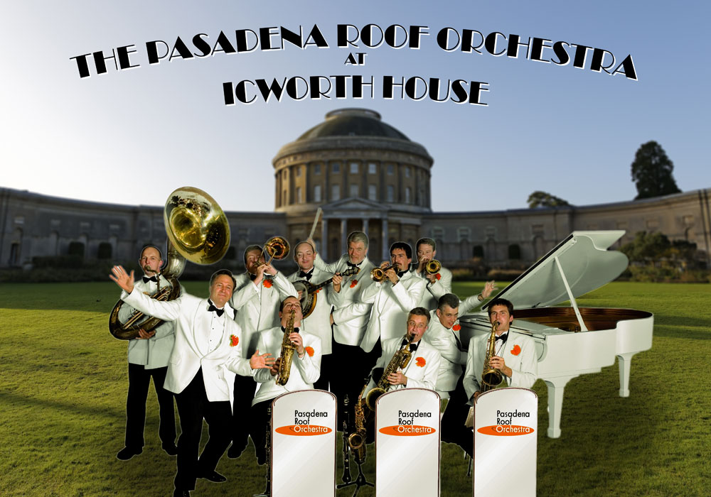 Pasadena Roof Orchestra At Ickworth House Theatre Royal