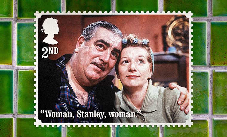 Coronation Street Stamps