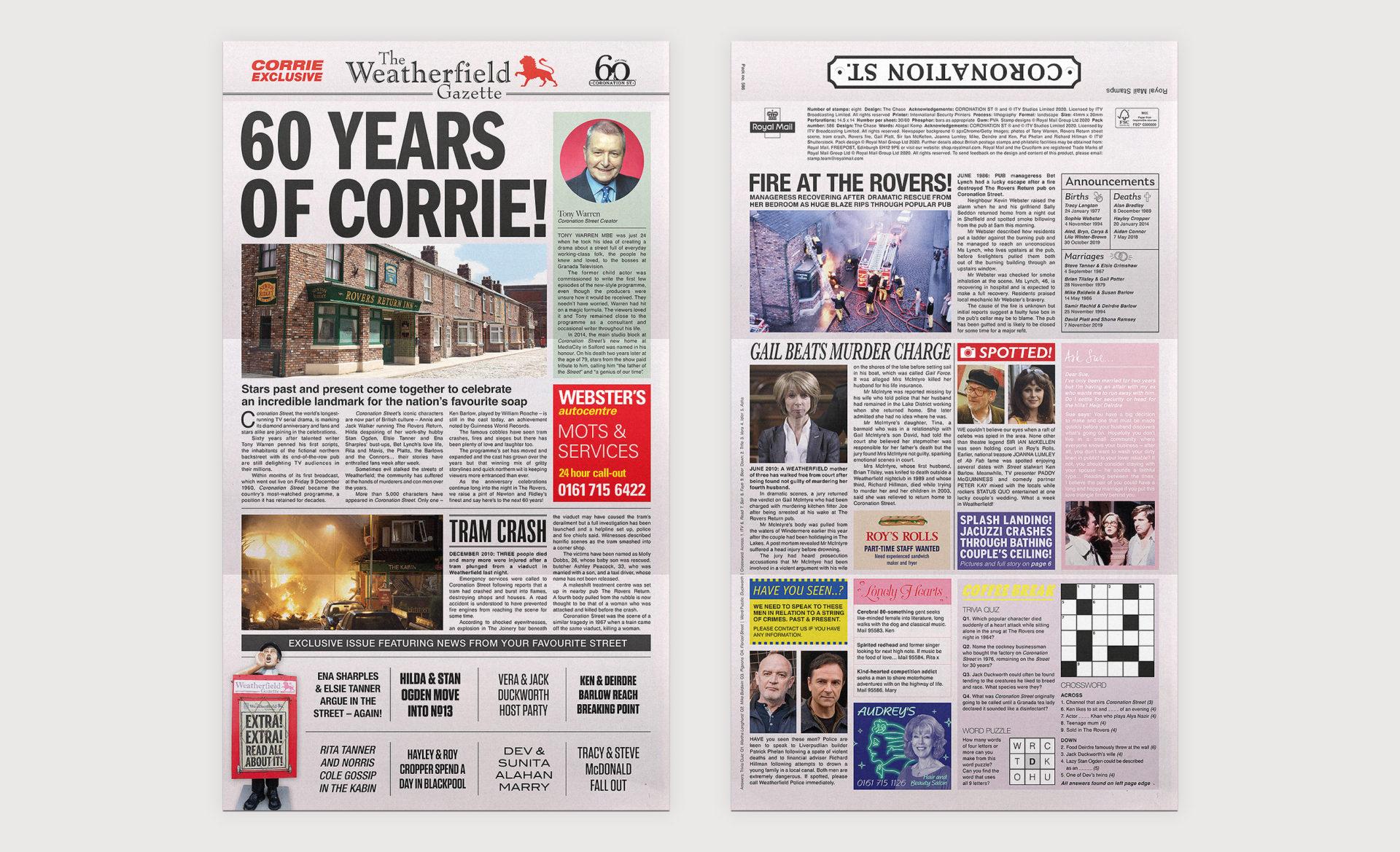 Coronation Street Presentation Pack