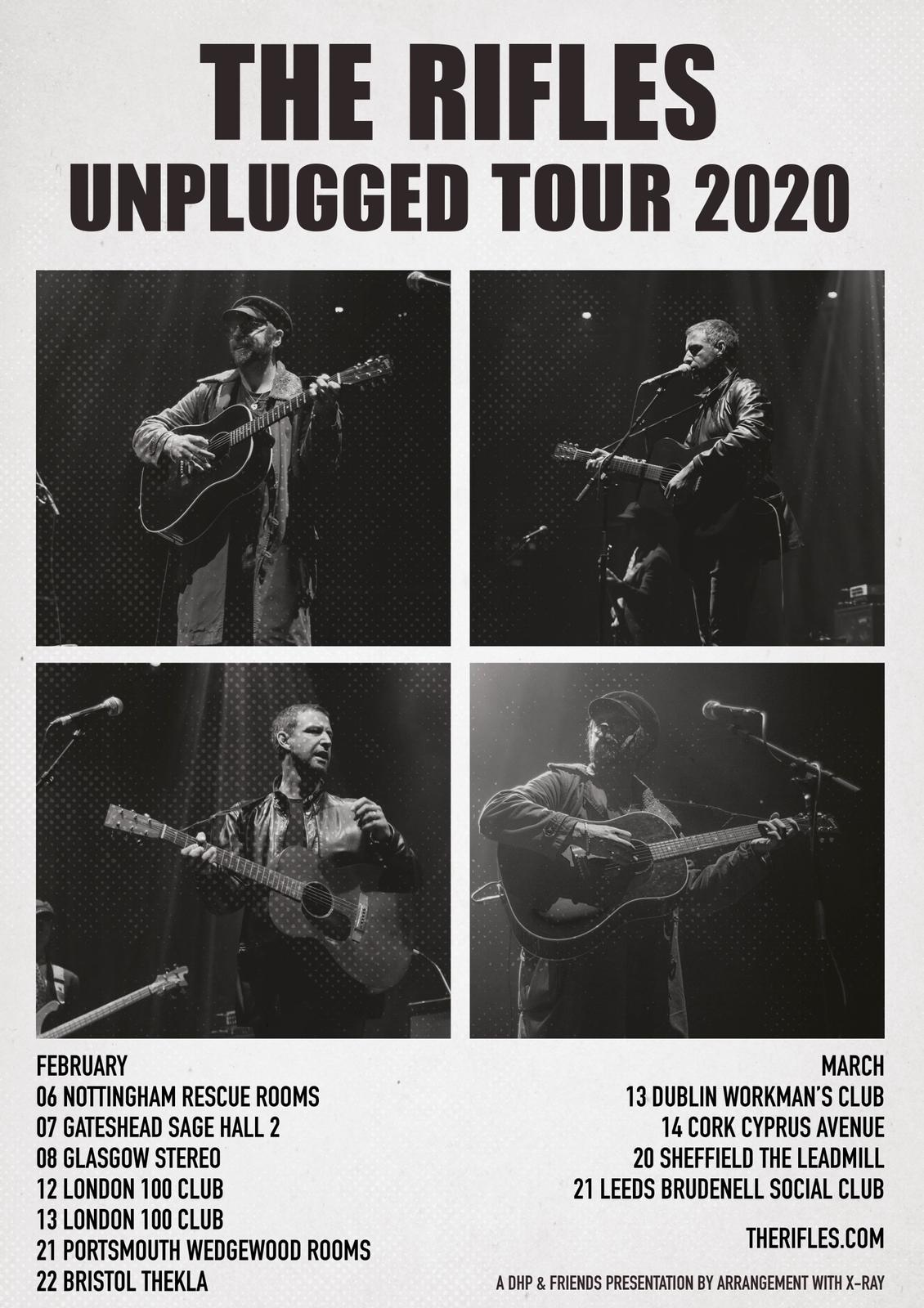 Unplugged Tour 2020 On-sale Now