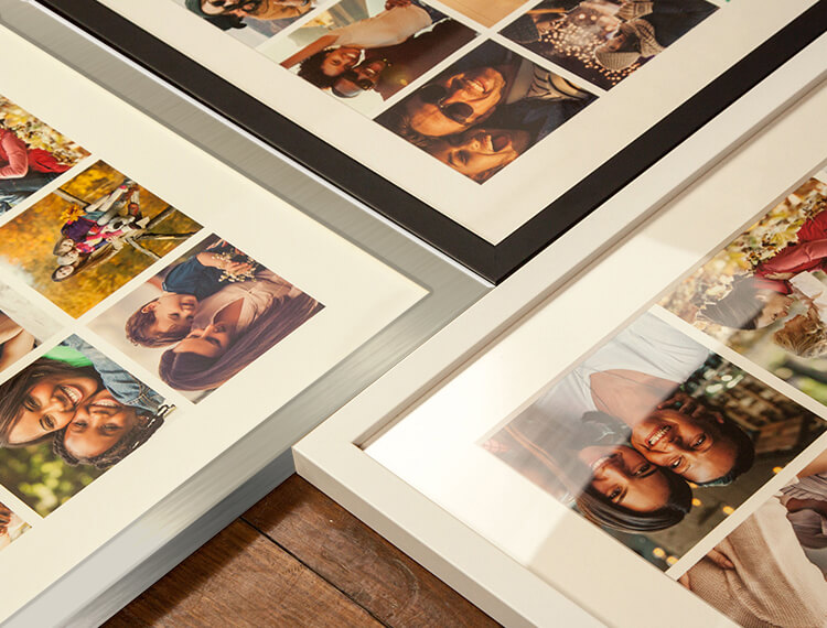 Gallery Frames landing mobile US | TouchNote