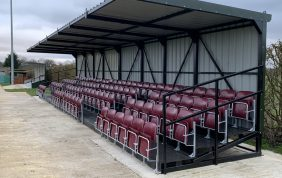 Work on new stands completed