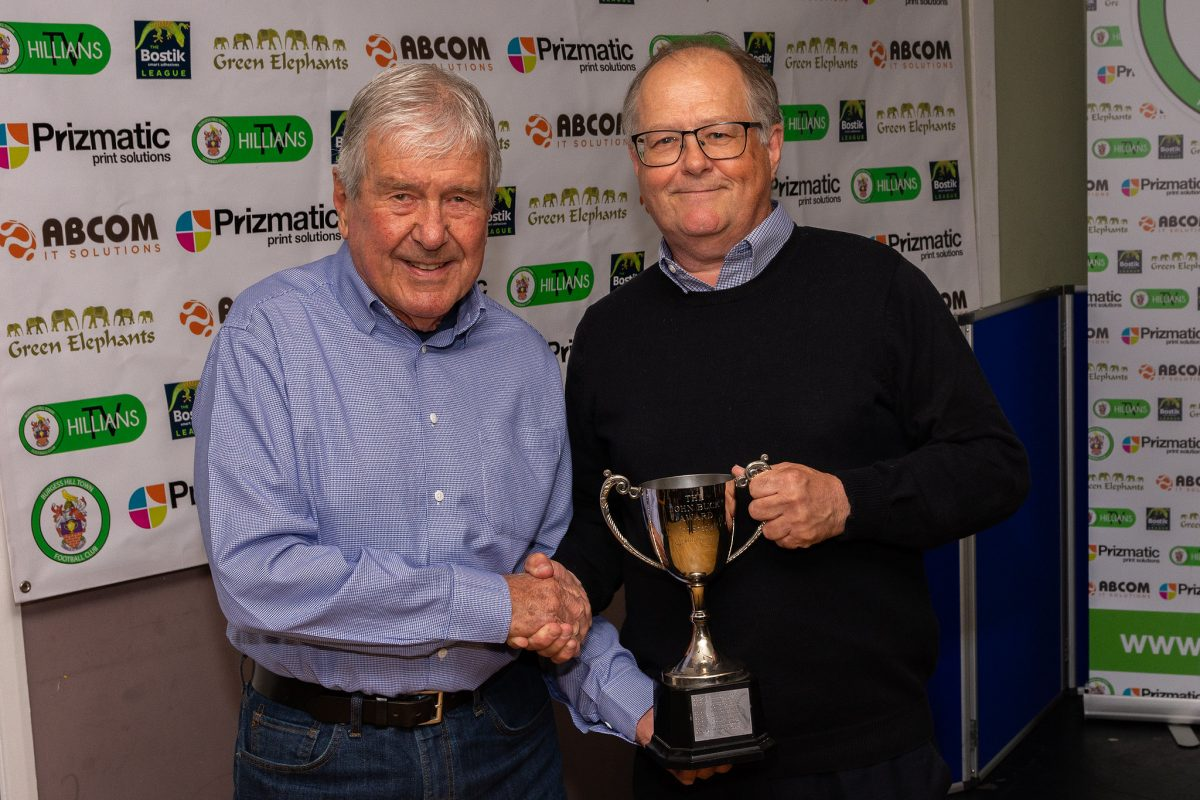 John Buck Wins Isthmian League Supporter Of The Season