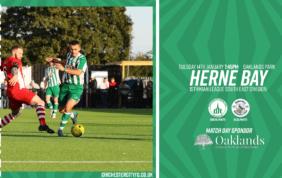 Herne Bay: Match Postponed