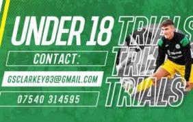 U18's Trials
