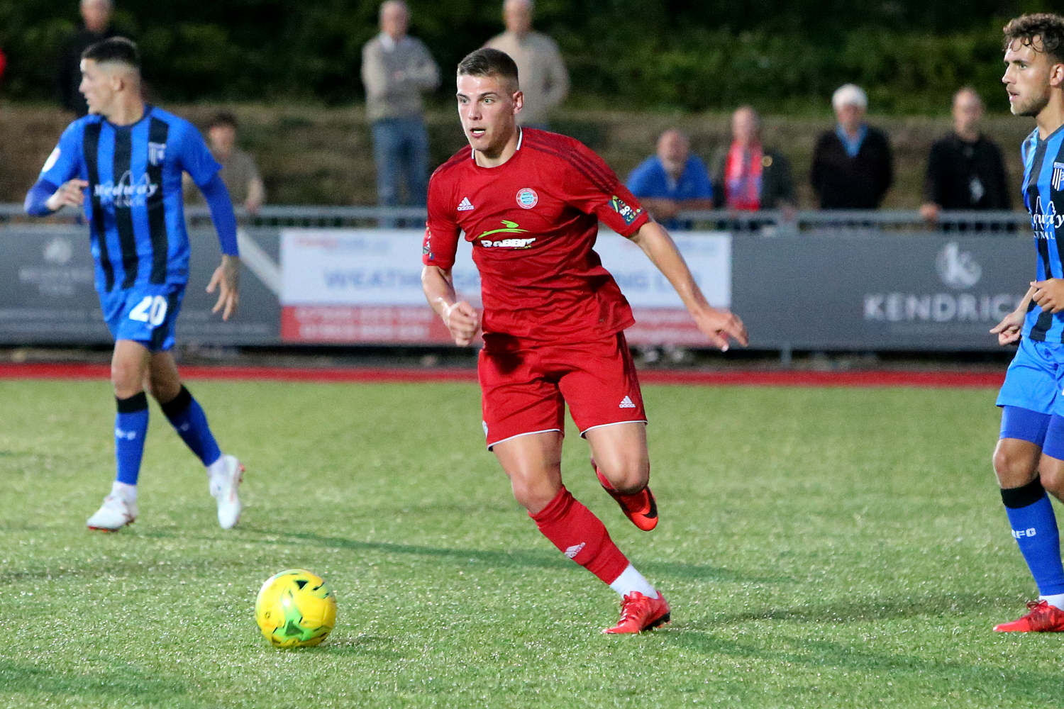Striker Kealy joined Worthing to boost Football League goal