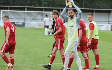 Hard Fall For Worthing Stopper