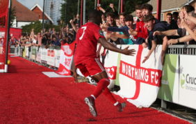 HIGHLIGHTS: Worthing 3-1 Kingstonian [H] – League