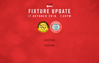Fixture Update: Merstham [A] – League