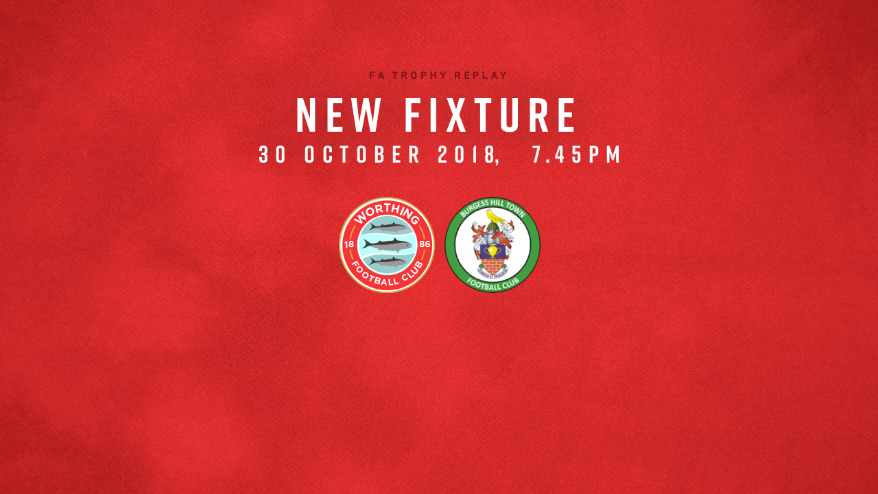 Fixture Update: FA Trophy Replay!